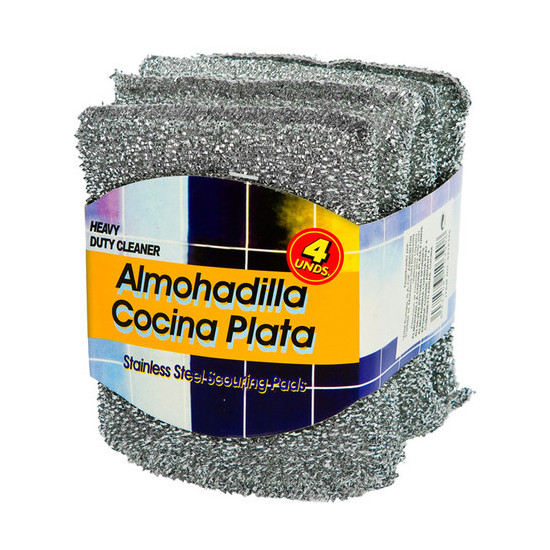 ALMOHADILLA COCINA PLATA, WAT, 4UDS.