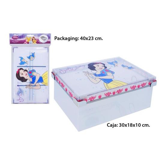 CAJA PVC, DISNEY, -PRINCESS-, 30X18X10CM.