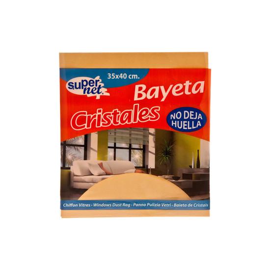 BAYETA CRISTALES, SUPERNET, 35X40CM.