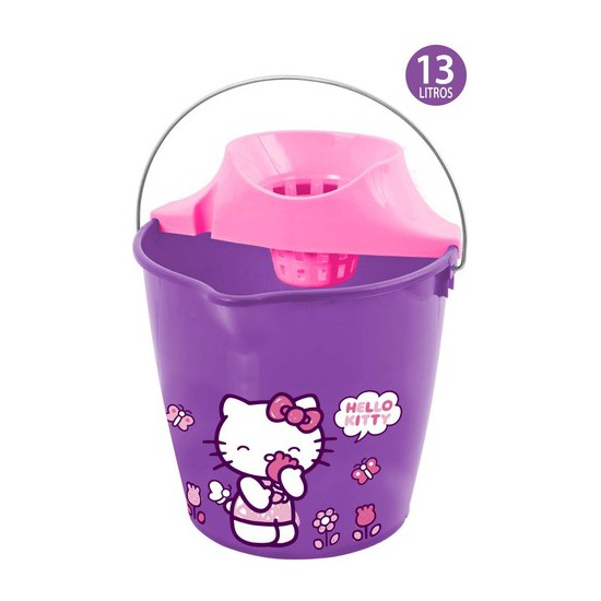 CUBO CON ESCURRIDOR, HELLO KITTY, 13L.
