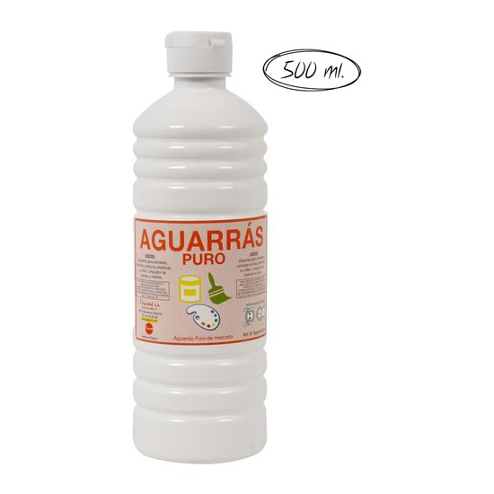 AGUARRAS PURO, 500ML.
