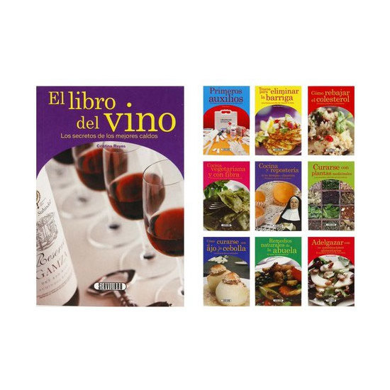 LIBRO BIBLIOTECA DE SALUD MODELOS SURTIDOS, SERVILIBRO, 16,5X11CM.
