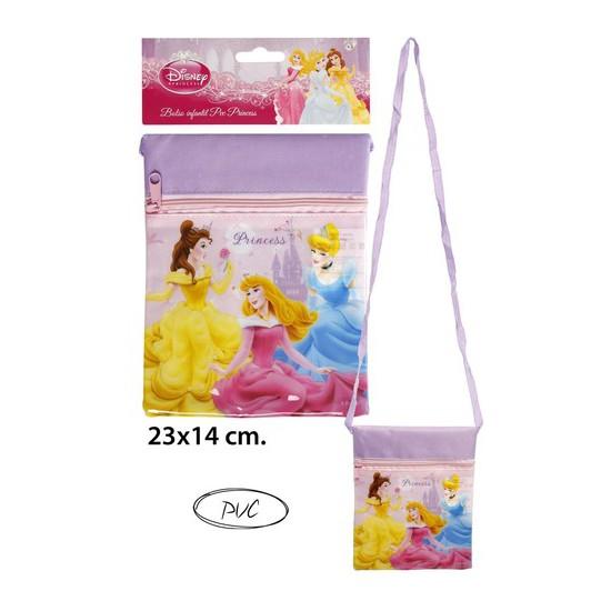 BOLSO INFANTIL PVC PRINCESS, DISNEY, 23X14CM.