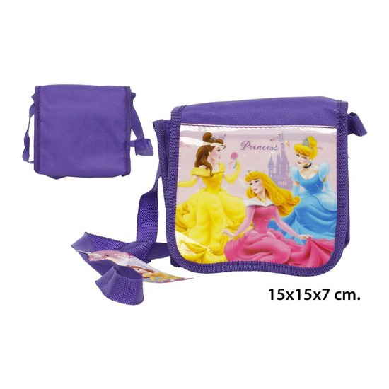 BOLSO INFANTIL PVC PRINCESS, DISNEY, 15X15X7CM.