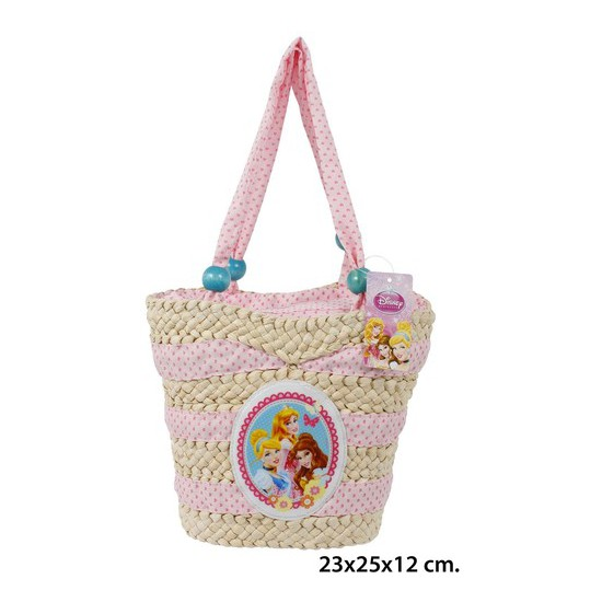 BOLSO VERANO, DISNEY, -PRNCESS-