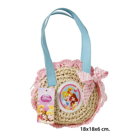 BOLSO VERANO, DISNEY, -PRINCESS-