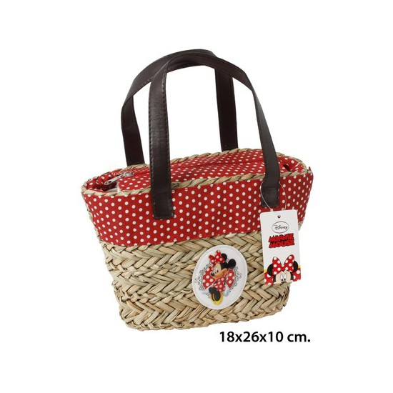 BOLSO VERANO, DISNEY, -MINNIE-