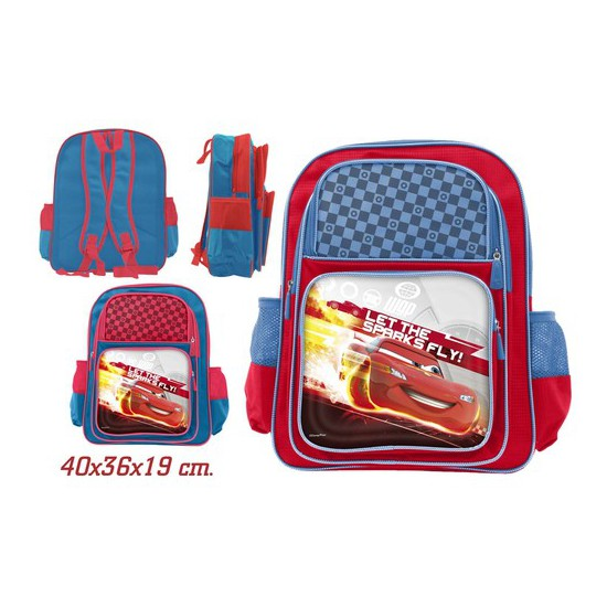 MOCHILA ESCOLAR, DISNEY, -CARS-