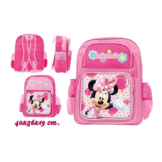 MOCHILA ESCOLAR, DISNEY, -MINNIE-