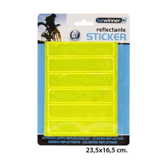 STICKER REFLECTANTE, BEWINNER, -.-, 6UDS.