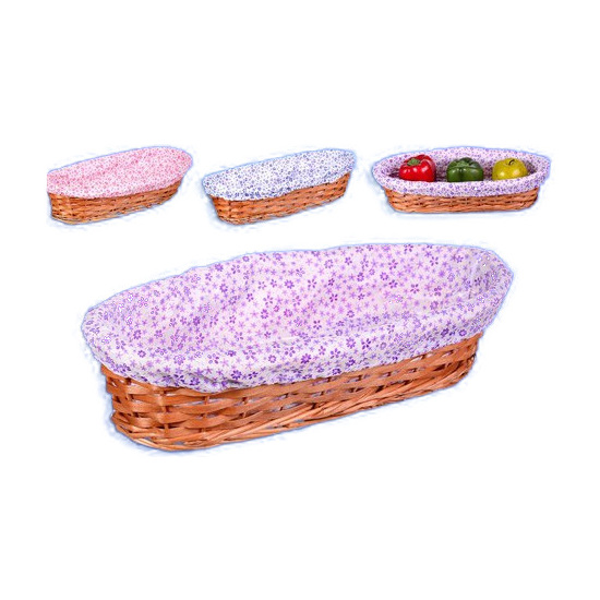 PANERA BAGUETTE NATURAL CON FORRO FLORES, HERSIG