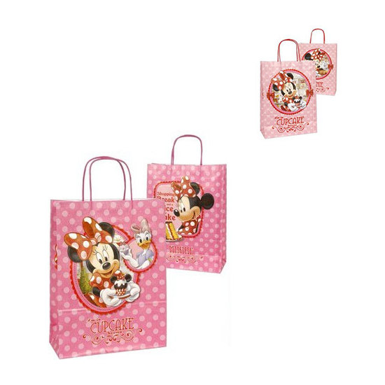 BOLSA REGALO, DISNEY, -MINNIE-, TALLA S