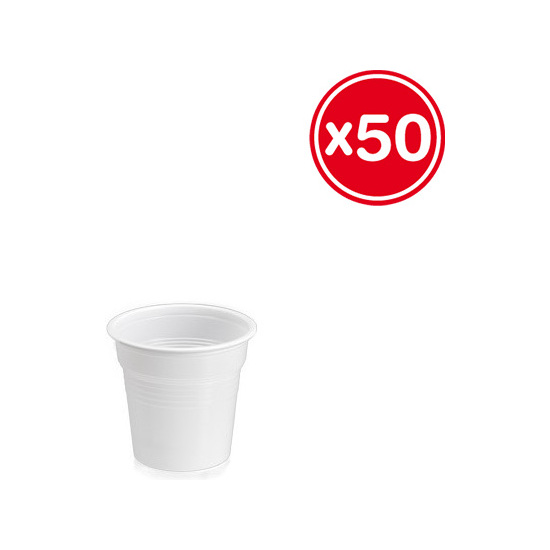 VASO PLASTICO 80CC 1,5GR., BEST PRODUCTS, 50UDS.