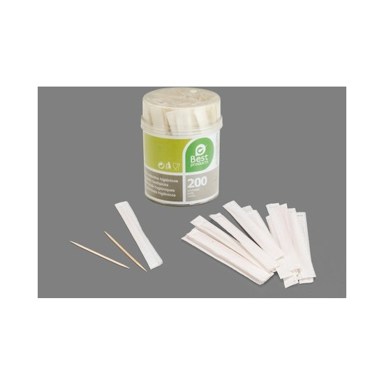 PALILLO REDONDO EN PAPEL, BEST PRODUCTS, 200UDS.