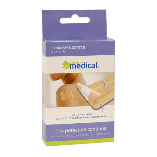 TIRA PROTECTORA CONTINUA LAVABLE, MEDICAL CENTER, 100X6CM.