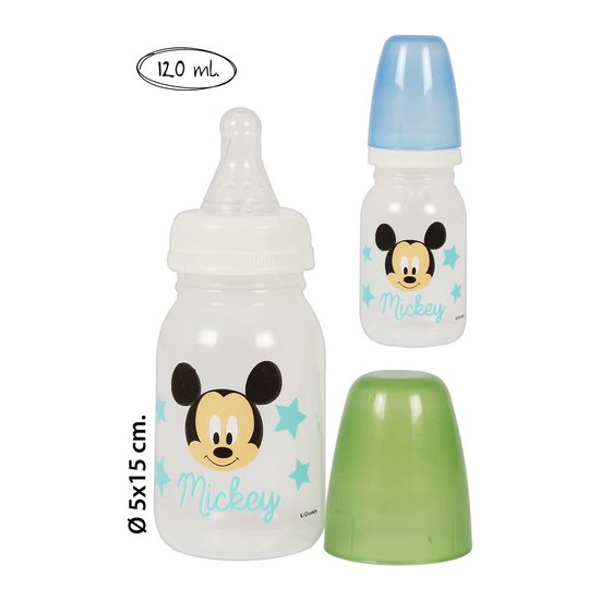 BIBERON PP, DISNEY, -MICKEY-, 120ML.