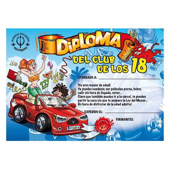 DIPLOMA 18 AÑOS