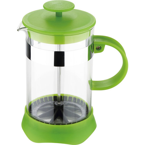 RENBERG COLORIDA- CAFETERA DE ÉMBOLO 600ML GREEN