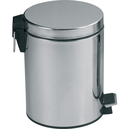 cubo de basura de acero inoxidable 3l