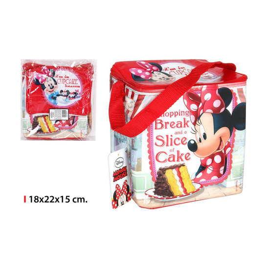 BOLSA NEVERA MINNIE SLICE CAKE