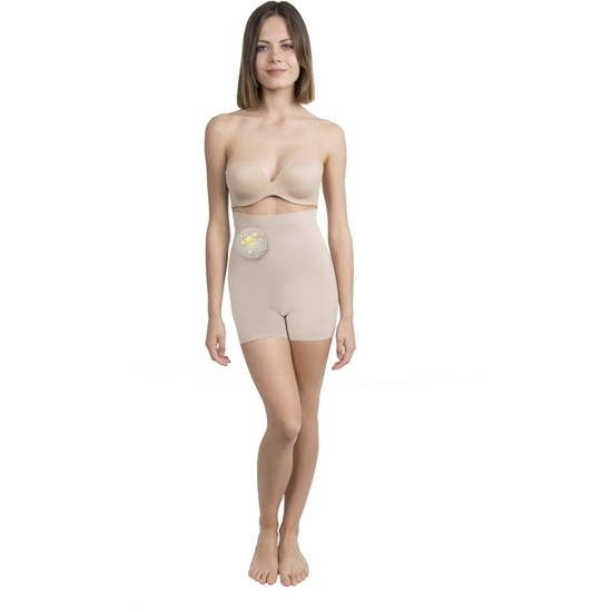 SHORTY MINI COSMÉTICO-TEXTIL COLOR BEIGE