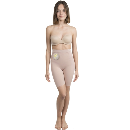 SHORTY PUSH UP COSMÉTICO-TEXTIL COLOR BEIGE