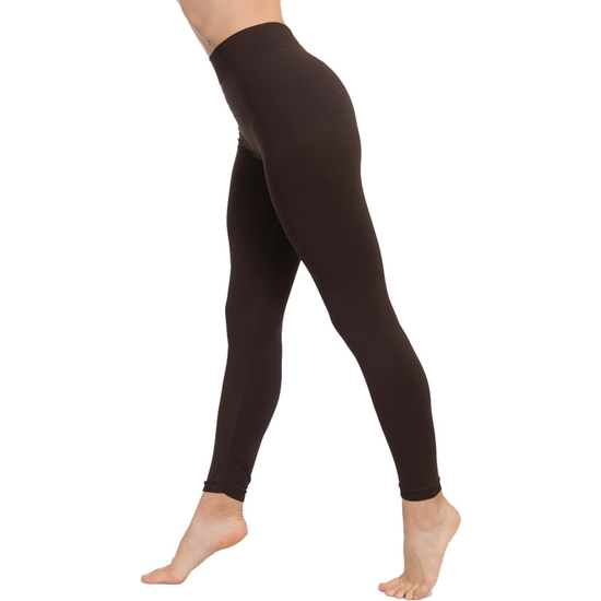 LEGGINGS PUSH UP COSMÉTICO-TEXTIL COLOR MARRÓN