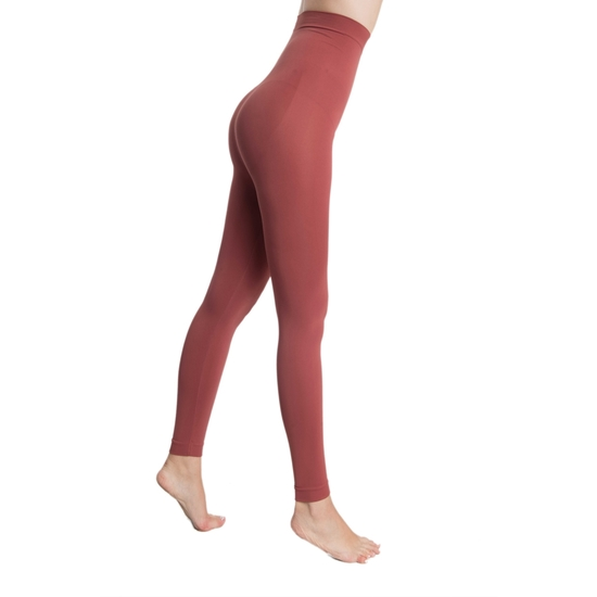 LEGGING PUSH UP COSMÉTICO-TEXTIL EMANA 140 DEN COLOR GRANATE