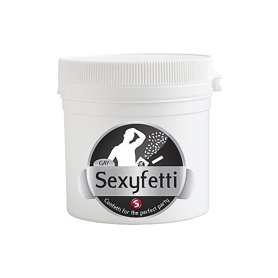 SEXYFETTI CONFETTI NEGRO EDICION GAY