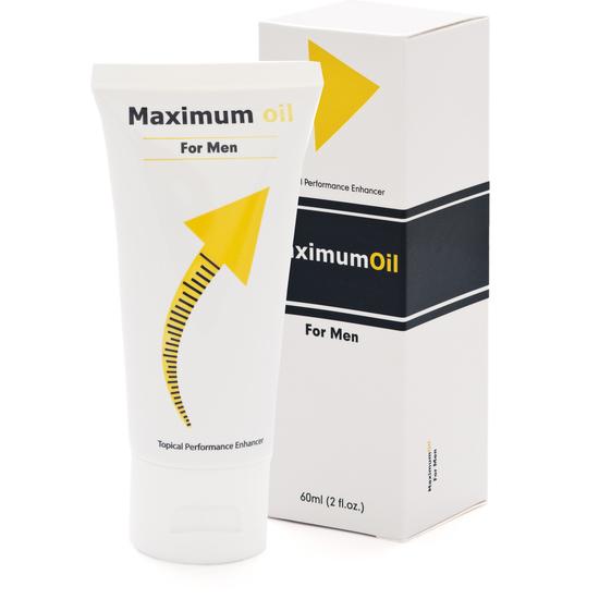 MAXIMUM OIL FOR MEN LUBRICANTE PARA LAS ERECCIONES