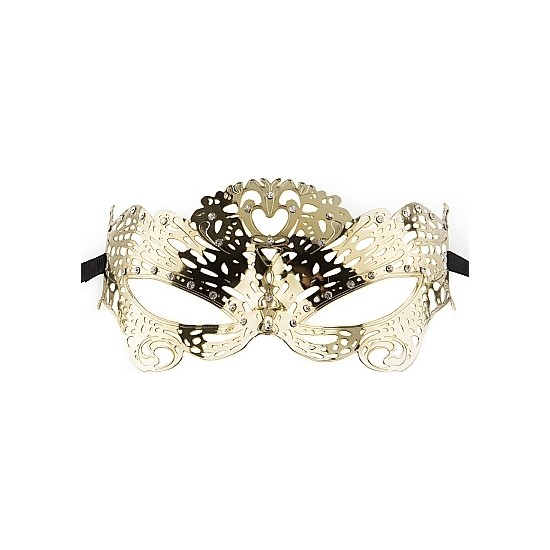 BUTTERFLY MASQUERADE MASK ORO