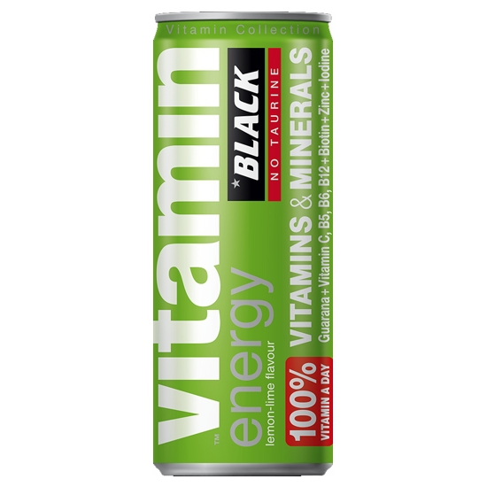 BLACK SEX ENERGY BEBIDA ENERGETICA LIMA Y LIMON