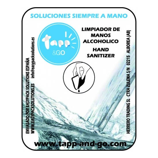 HAND SANITIZER LIMPIAMANOS GRANEL 1 ML