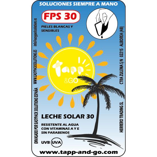 LECHE SOLAR FPS 30 8 GR