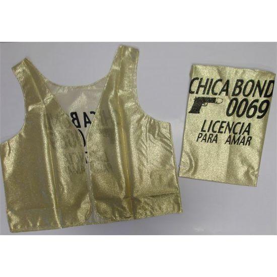 CHALECO CHICA BOND 007