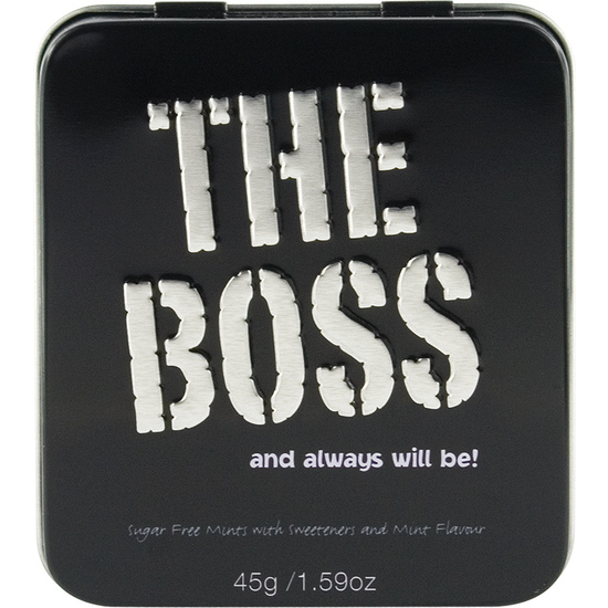 THE BOSS MINTS CARAMELOS DE MENTA