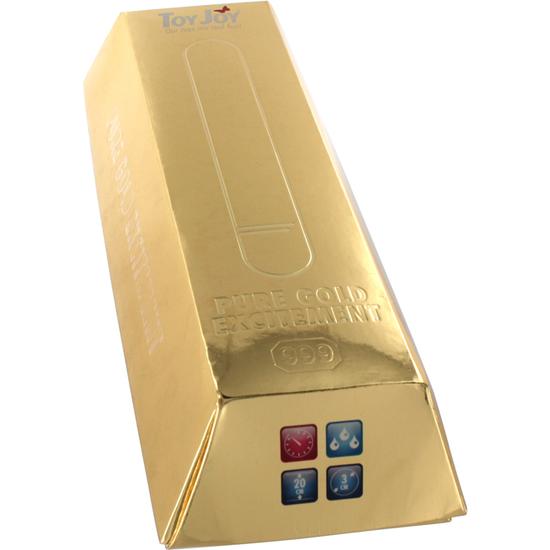 PURE GOLD EXCITEMENT VIBRADOR LARGO