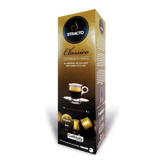 CLASSICO STRACTO, 10 CÁPSULAS DE CAFÉ