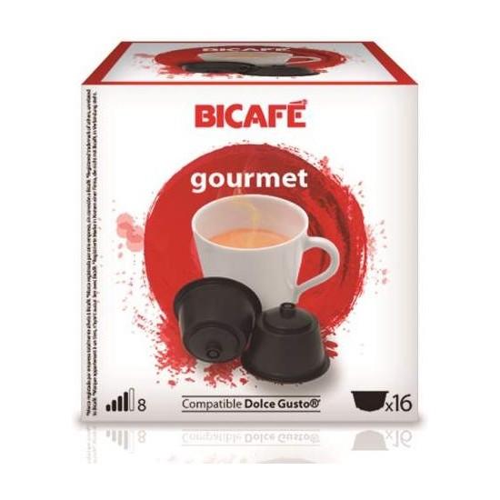 GOURMET 16 CÁPSULAS DE LA MARCA BI CAFÉ