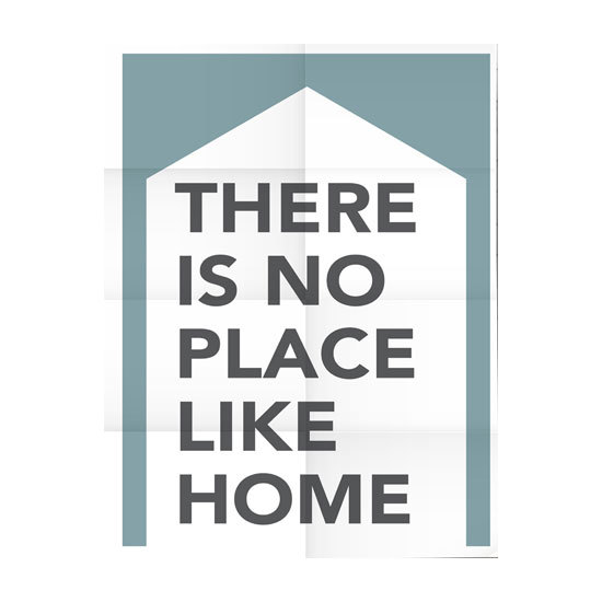 CUADRO DE TELA THERE IS NO PLACE