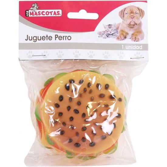 JUGUETE PERRO HAMBURGUESA 1 UD
