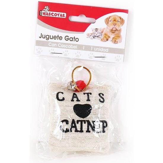 JUGUETE GATO CON CASCABEL