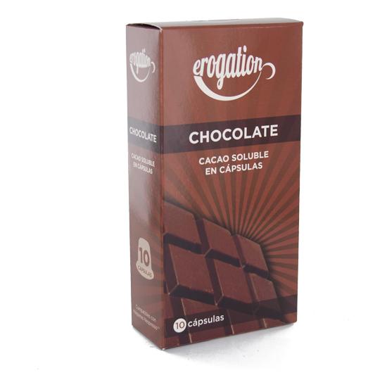 CHOCOLATE 10 CÁPSULAS CACAO SOLUBLE
