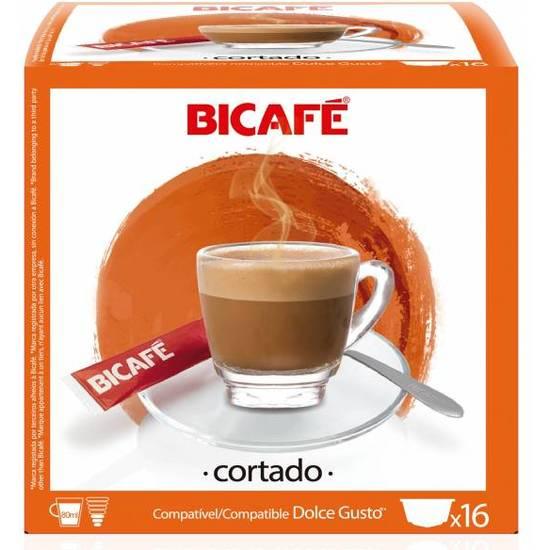 CORTADO 16 CÁPSULAS BI CAFÉ
