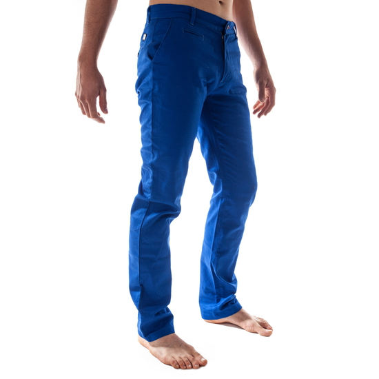 PANTALON LARGO CLASSIC AZUL ROYAL