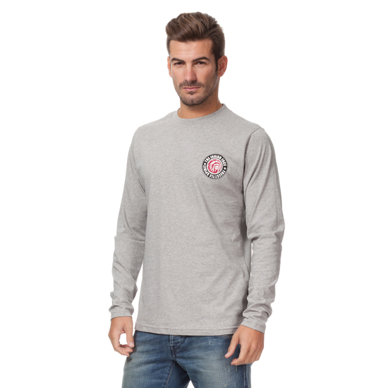 CAMISETA ML URBAN CLASSICS GRIS
