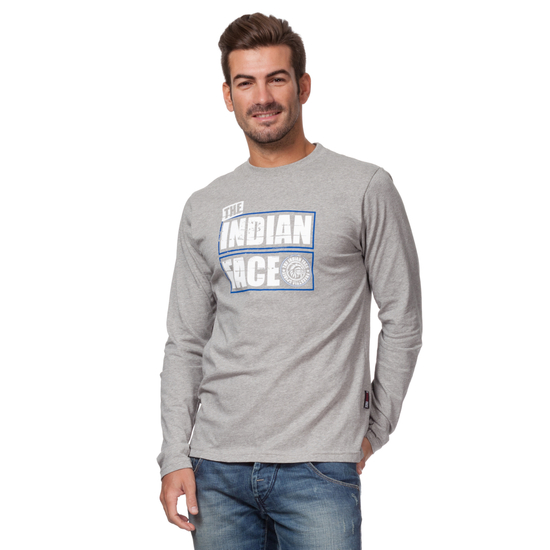 CAMISETA ML SNOW RIDE GRIS