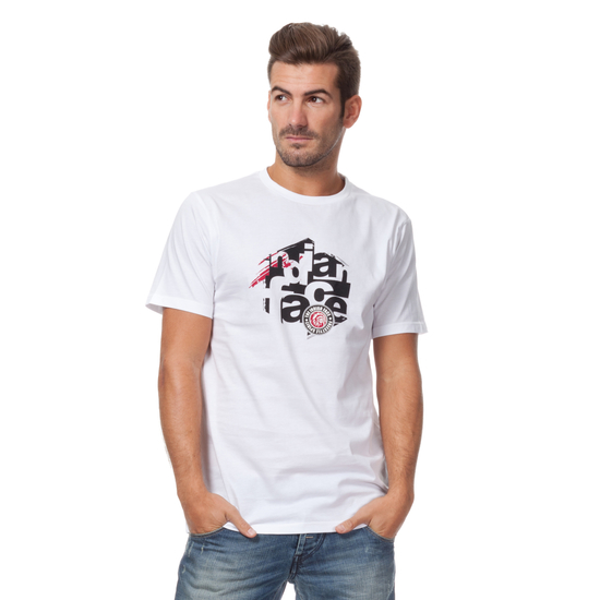 CAMISETA MC SNOW FREESTYLE BLANCA
